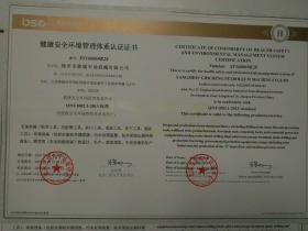 HSE证书